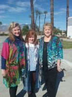 Angela, Anne and Janice in Palm Desert 2019